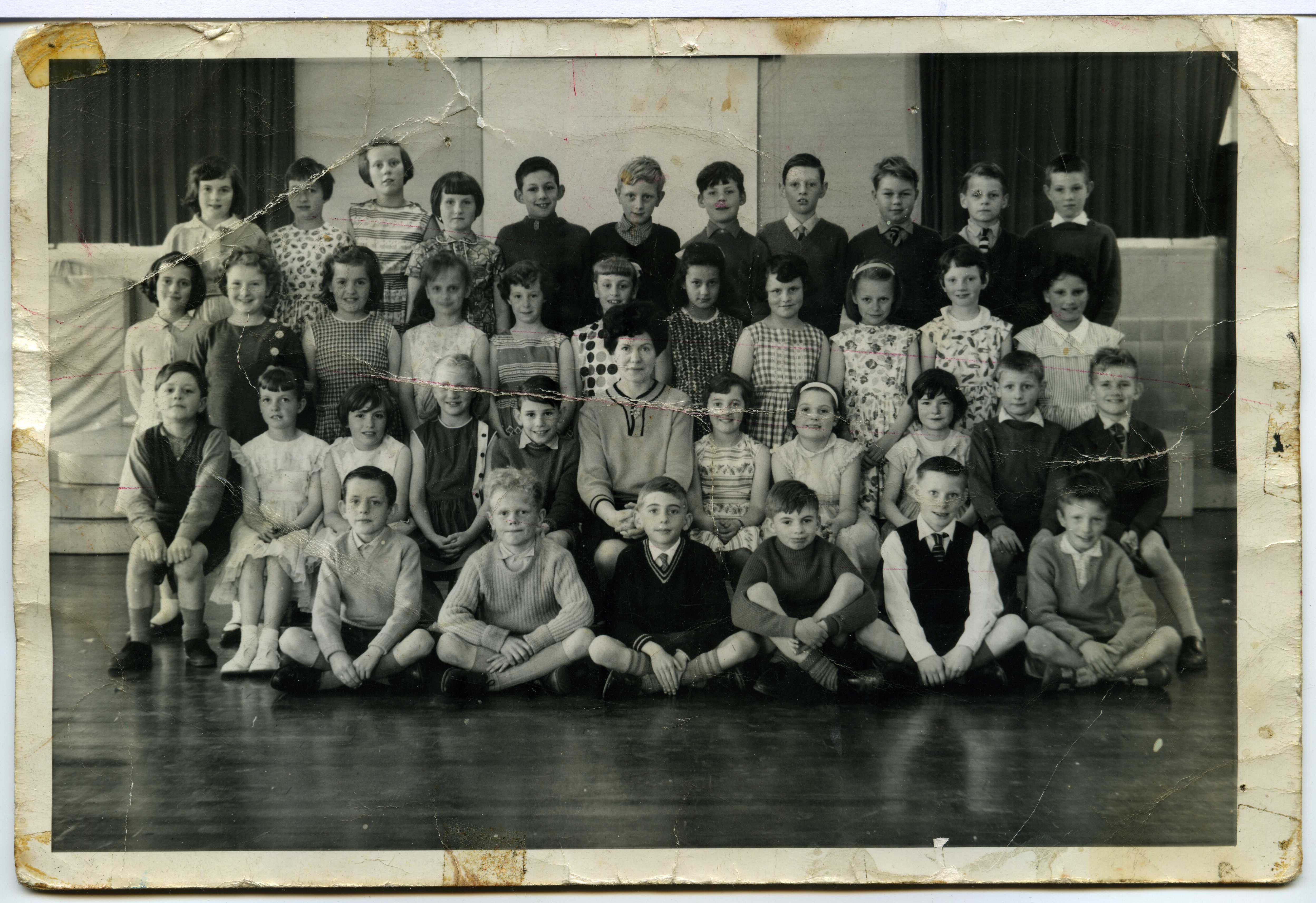 Charlton Manor Primary School, London - 1963 - Miss Shaw's class