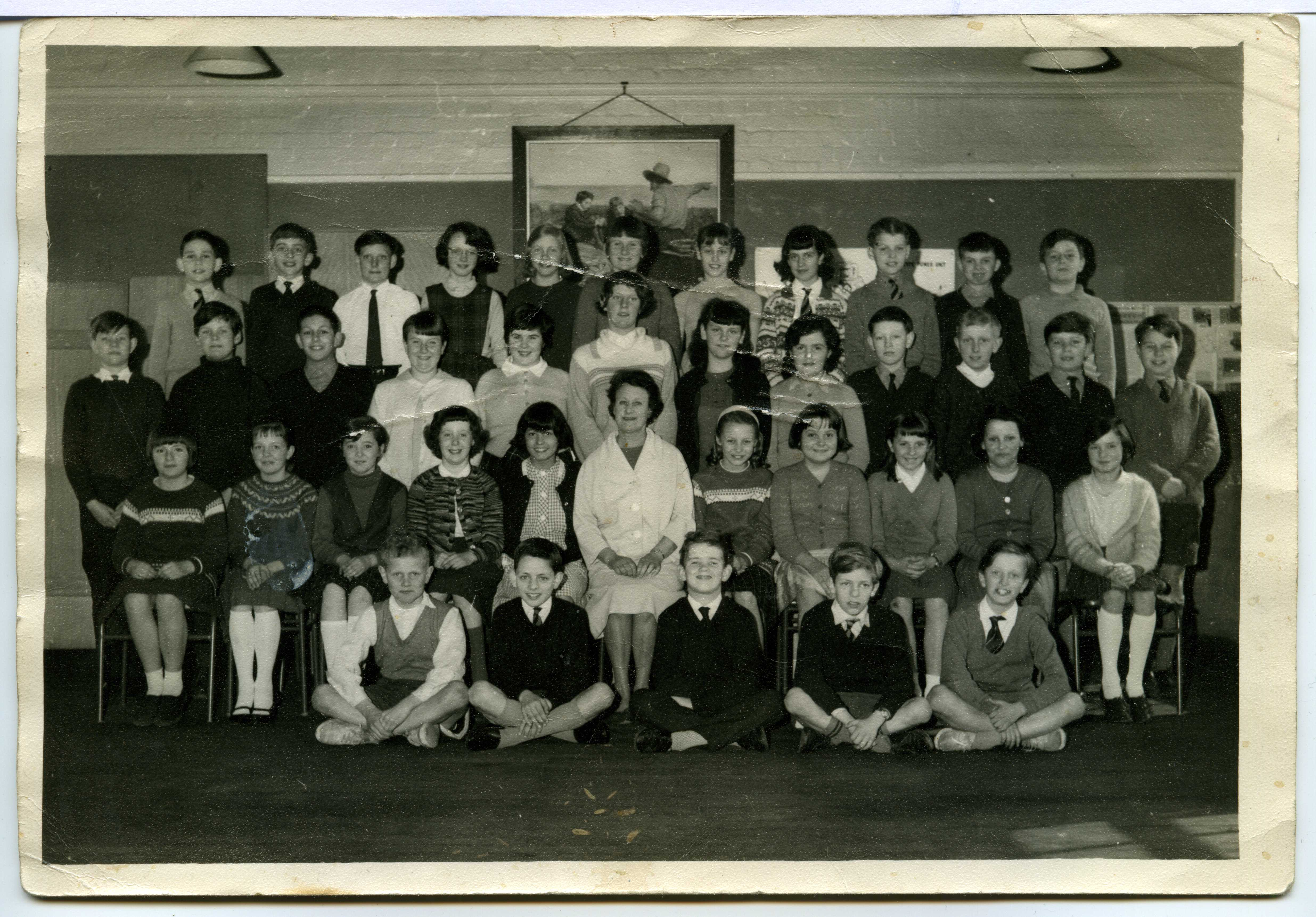 Charlton Manor Primary School, London - 1965 - Miss Stimpson's class