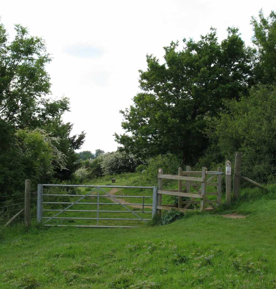 Blue Bell Hill gates