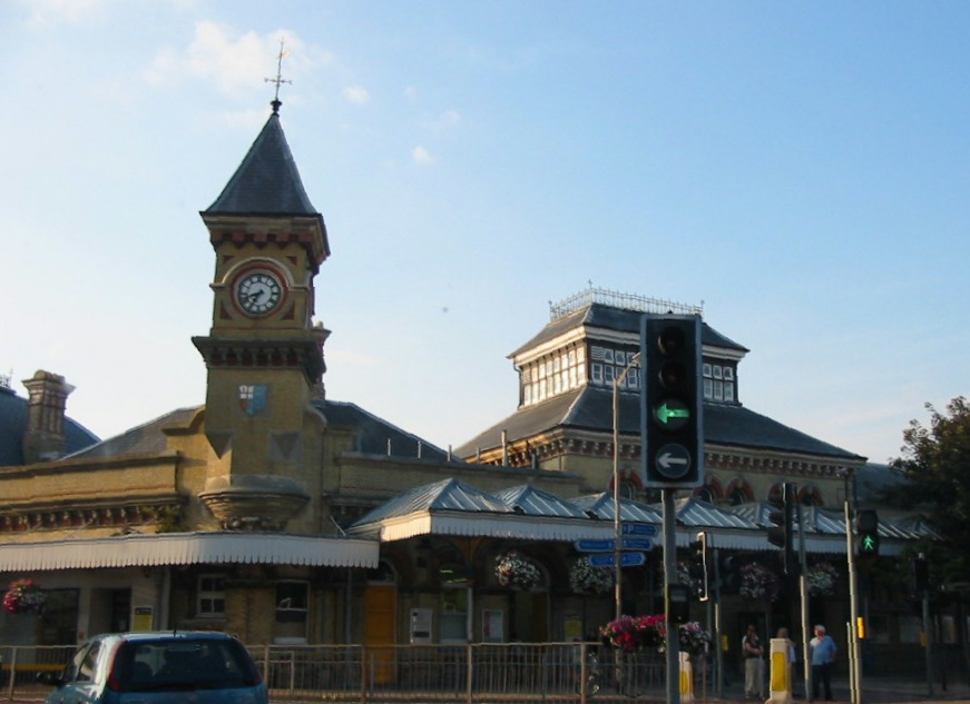 Eastbourne railway station