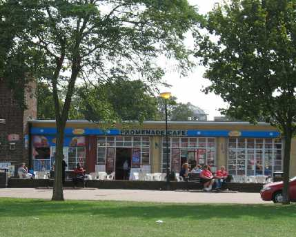Gravesend riverfront cafe