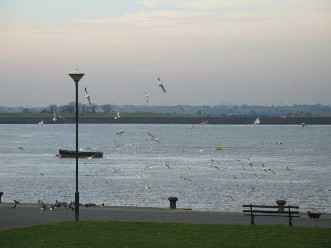 Gravesend, riverfront view