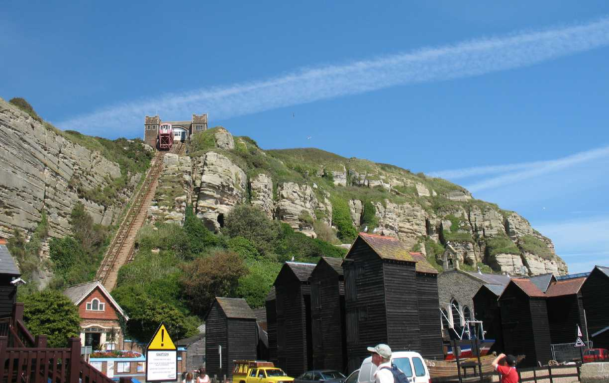 Hastings East Hill cliff railway