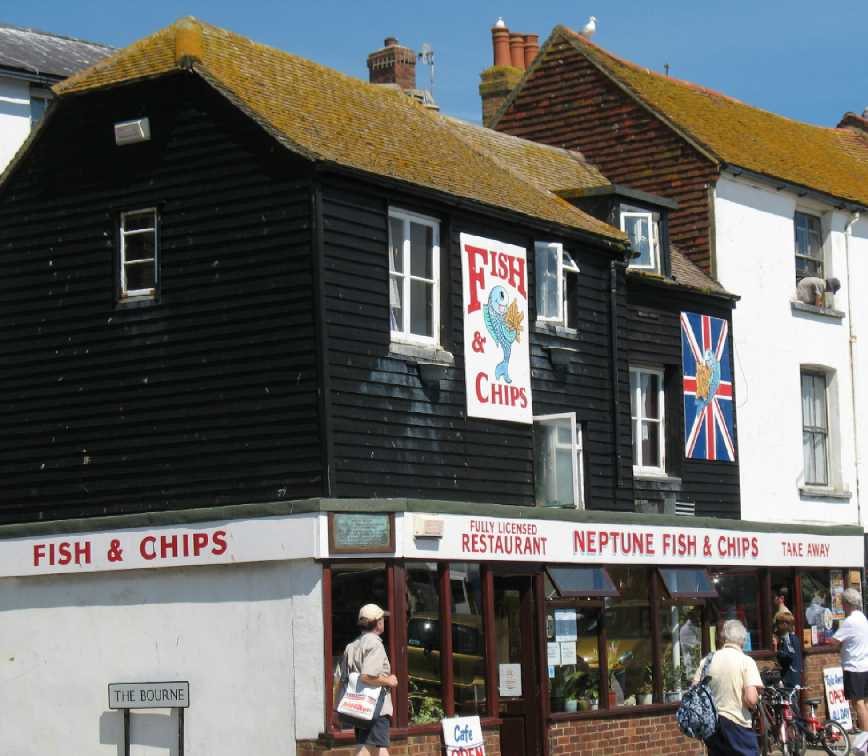Hastings seafood shops