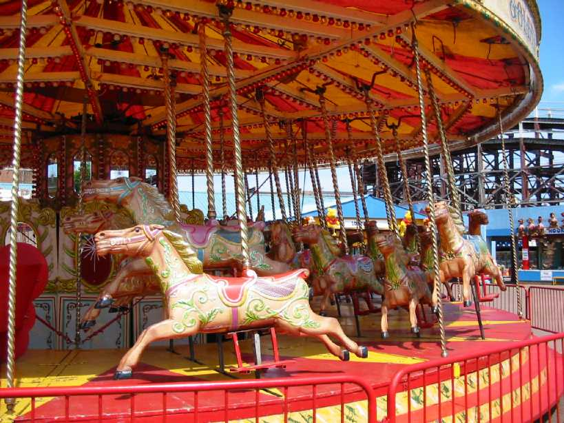 Funfair chargers carousel