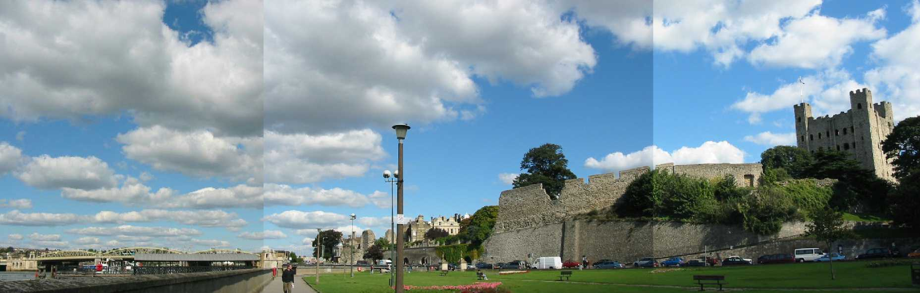 Rochester Castle and riverside walk