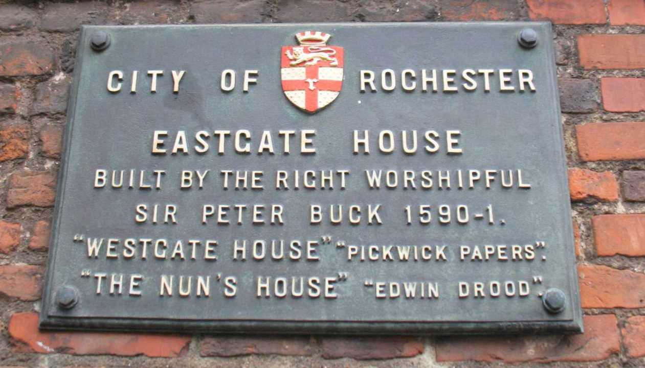 Eastgate House plaque