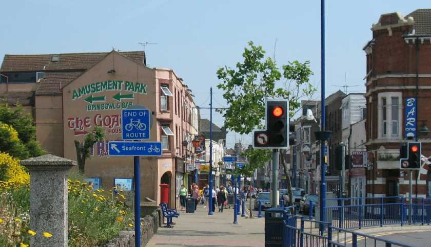 Sheerness town centre top end