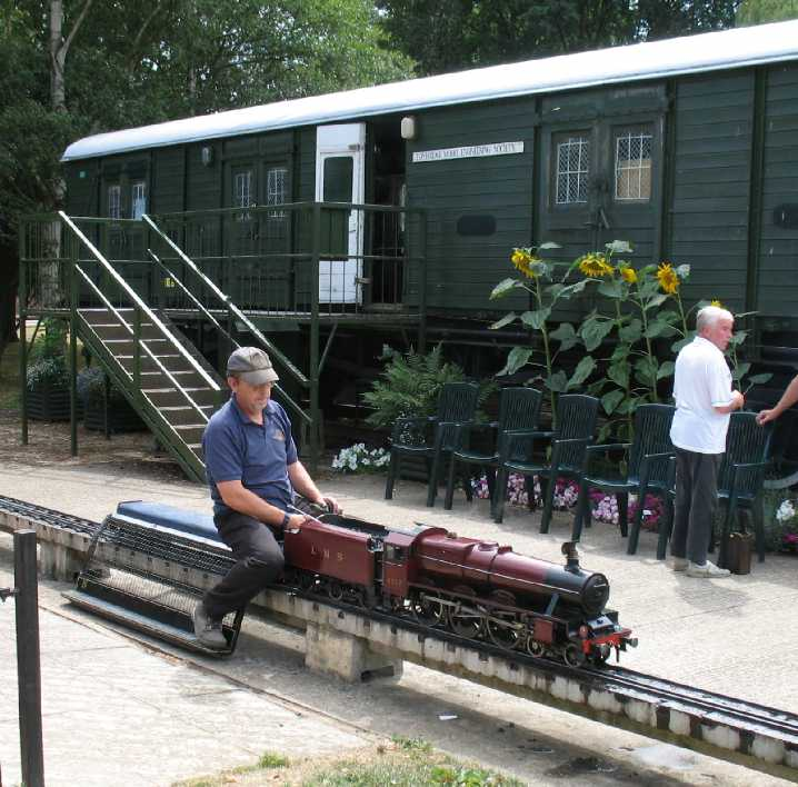 Tonbridge Castle miniature trains 2