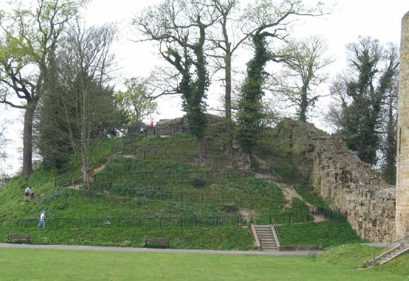 Tonbridge Castle motte