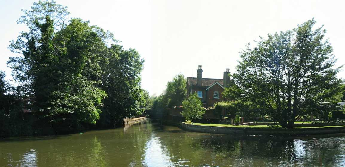Tonbridge river confluence